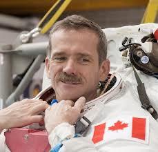Commander Chris Hadfield, ISS